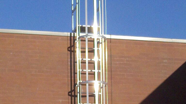 Fixed Aluminum Wall Ladders