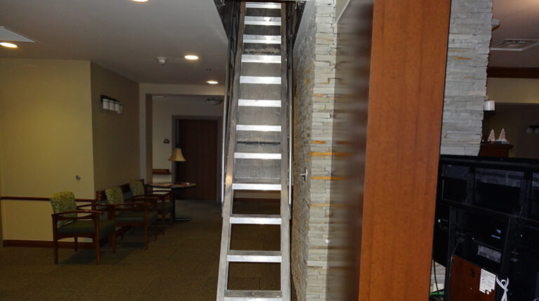 Automatic Electric Disappearing Stairways