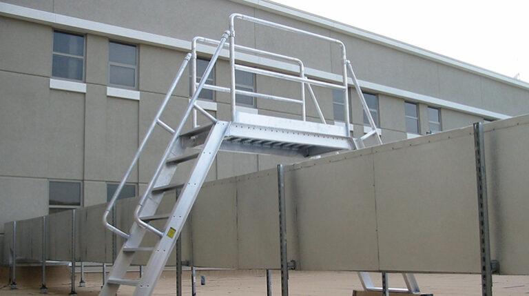 Aluminum Ships Stairs